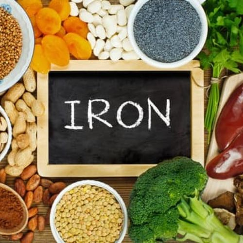 nutrition to build muscle - iron