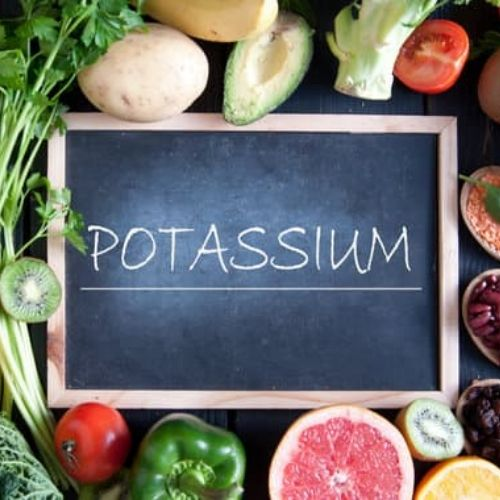 nutrition to build muscle - potassium