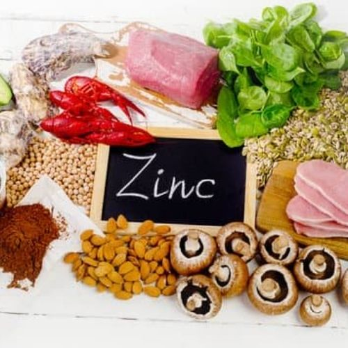 nutrition to build muscle - zinc